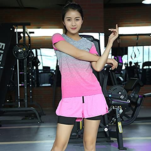 Pantaloncini sport vestito sottile femmina fitness Kit e ad asciugatura