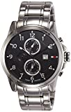 Tommy Hilfiger Analog Black Dial Men's Watch-NATH1710296J
