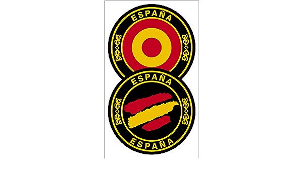 Artimagen Aufkleber Kreise Diana Und Strichbreite Spanien Ø 50 Mm Auto