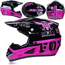 CFYBAO Casco De Motocross con Regalos Gafas Máscara Guantes Fox Moto Racing  Casco Integral para Hombre 2692506c6d8