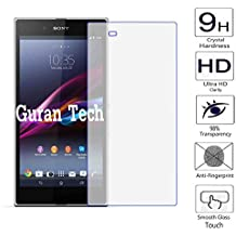 Guran® Protector de Pantalla Vidrio Cristal Templado Para Sony Xperia Z Ultra (XL39h) 6.4pulgada Smartphone Film