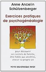 Exercices pratiques de psychogénéalogie d'Anne Ancelin Schützenberger