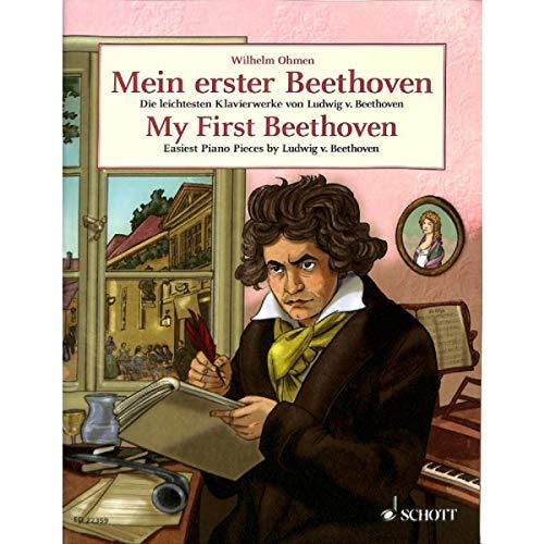 n: die leichtesten Klavierstücke von Ludwig van Beethoven inkl. FÜR ELISE und MONDSCHEINSONATE (1. Satz) (Noten) ()