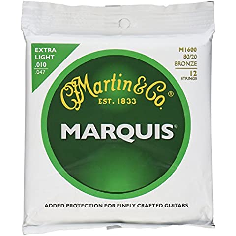 C. F. Martin Marquis Standard corde per chitarra acustica a 12corde