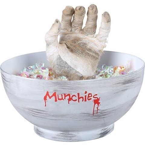 Gemmy Animated Mummy Hand Candy Bowl Halloween Decoration by Gemmy