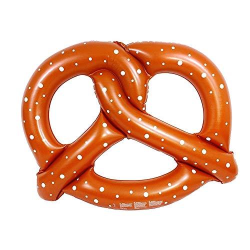 ZOUBIAG Aufblasbarer Schwimmring Für Erwachsene Brote (Color : Brown, Size : A) -