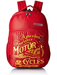 American Tourister 27 Ltrs Red Casual Backpack (AMT BOOM BACKPACK 01 - RED)