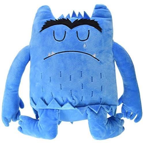 Monstruo de colores peluche azul 2