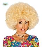 Guirca 4007 - Peluca Afro Rubia Extra