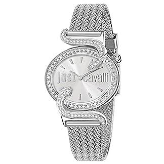 Just Cavalli Reloj analogico para Mujer de Cuarzo con Correa en Acero Inoxidable R7253591503