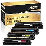 Arcon Kompatibel zu Samsung CLT-506L CLT-K506L CLT-C506L CLT-Y506L CLT-M506L ELS für Samsung CLX-6260 6260ND 6260FW 6260FR 6260FD CLP-680ND 680DW CLX 6260 FR FW CLP 680ND DW CLX6260 CLX6260FW Toner