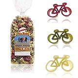 Fahrrad-Nudeln 2 Packungen à 250 g//Pasta Fahrrad 500 g Hartweizengrieß
