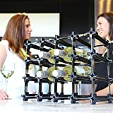 NOOK Weinregal 50er Large Kit - modulares Regalsystem für Weinflaschen - praktisches Flaschenregal flexibel erweiterbar zur optimalen Lagerung von Flaschen