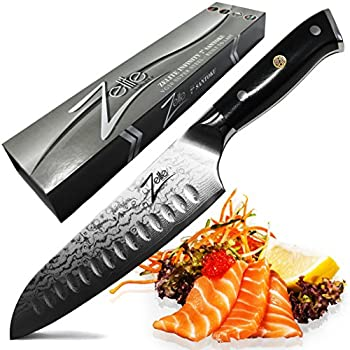 zelite infinity chef knife 8 inch alpha royal series best quality japanese aus10 super steel. Black Bedroom Furniture Sets. Home Design Ideas