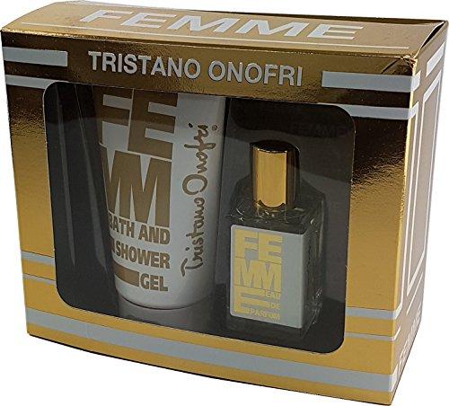 Tristano Onofri Femme 30ml Eau de Parfum EDP & 150ml Shower Gel Set