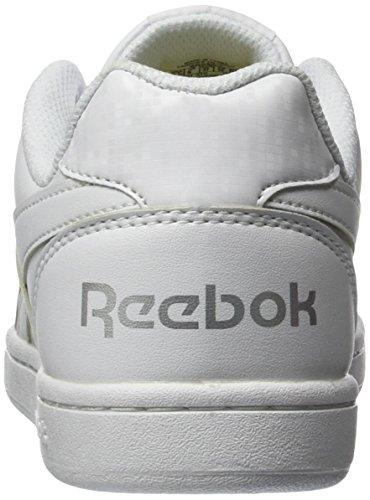 Reebok Royal Prime, Baskets Basses Mixte Enfant Blanc (White/Silver)
