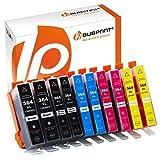 10 Druckerpatronen kompatibel für HP 364 XL 364XL Set mit Chip und Füllstand
