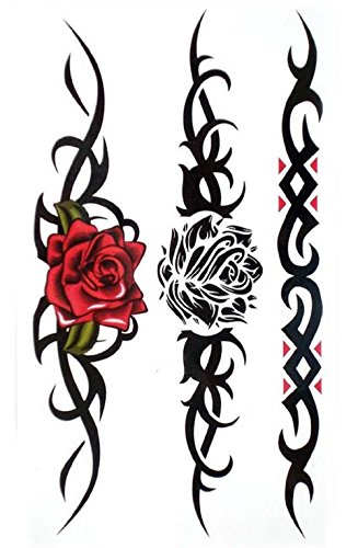 (s-116) flash tatoo adesivi temporanei temporaneo corpo stickers tattoo adesivo foglio per uomo donna