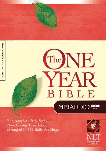 One Year Bible-NLT (Audio Bible-nlt)