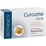 Curcuma Forte mit flüssigem Mizell-Curcumin ohne Piperin, das wohl beste Kurkuma der Welt, HOCHDOSIERT, resorbiertes Kurkurmin/Kapsel entspricht 148.000mg Kurkuma-Pulver, 30 Kapseln (Monatspack)