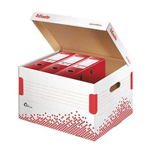 ESSELTE Lot de 15 Containers SPEEDBOX automatique L334 x P392 x H301 mm pour 5 Classeurs