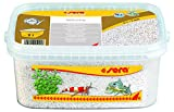 sera 32265 Gravel White Ø 1-3 mm, 3 l, weiss - Aquarienkies ideal für Garnelen & Krebse sowie für gründelnde Welse