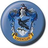 Harry Potter Botón Broche Insignia Oficial De Ravenclaw Escuela Logotipo Cresta