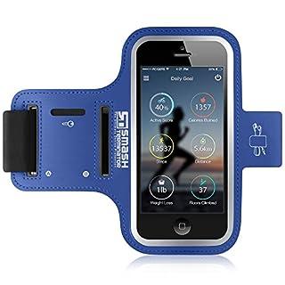 Sony Xperia XZ Compact Armband - Laufen, Workout, Gym, Jogging Case Handyhalter mit extra langen Riemen, Reflektierende Rahmen + Key / Card & Kopfhörerhalter - Auch kompatibel mit Xperia X, Z3 & Z5 Compact