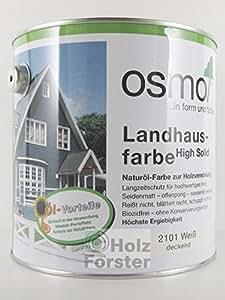 osmo landhausfarbe 2 5 liter steingrau 2704 baumarkt. Black Bedroom Furniture Sets. Home Design Ideas