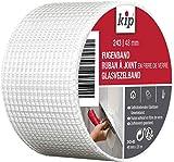 Kip 243-03 Glasfaser Fugenband 48 mm x 20 m für Spachtelarbeiten und Reparaturen im Mauerwerk und Trockenbau