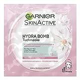 Garnier SkinActive Hydra Bomb Tuchmaske Feuchtigkeitsspendende, 5er Pack (5 x 32 g)