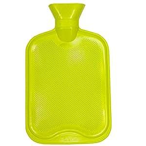 Bouillotte - Grand Modèle 2 L - Caoutchouc - Couleur : Vert