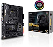 ASUS AM4 TUF Gaming X570-Plus ATX Motherboard with PCIe 4.0, Dual M.2, 12+2 مع مسرح طاقة Dr. MOS وHDMI، وDP, و