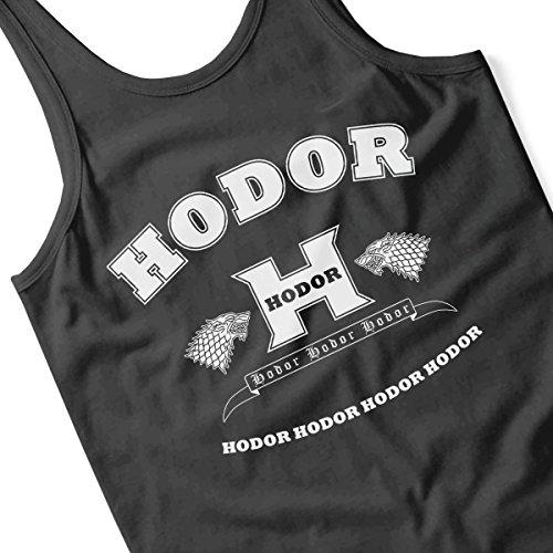 Hodor Language Academy Game Of Thrones Men's Vest Black