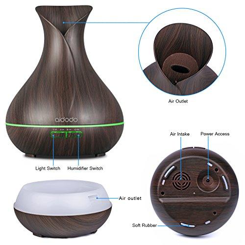 Aidodo Omasi Diffuseur d'Huiles Essentielles, quel est le bon prix ? Humidificateur d'air Portable | Purificateur d'air Electrique | Diffuseur de Parfum