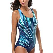 CharmLeaks Damen Einteiler Wassersport Figuroptimizer Sport Badeanzug  AirLane a608519d2c