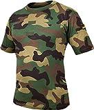 Original Tropen T-Shirt nach TL Farbe Woodland Größe 8