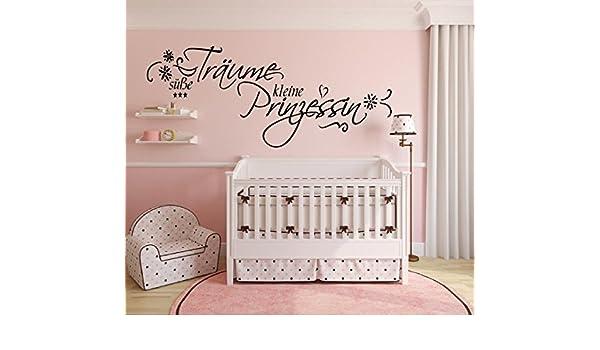 Home Garden Wandtattoo Kinderzimmer Baby Aufkleber Susse Traume Kleine Prinzessin 72023 Lacnelatky Sk