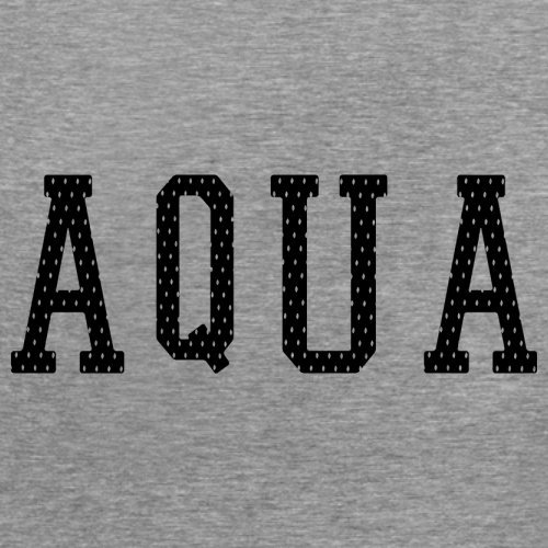 Justice Aqua College Style - Damen T-Shirt - 14 Farben Sportlich Grau ...