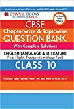 Oswaal English Language & Literature: Based on NCERT books- First Flight and Footprints without Feet for Class 10 (Old Edition)