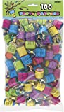 Unique Party 81103 - Party Poppers, Pack of 100
