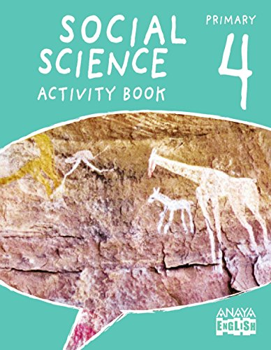 Social Science 4. Activity Book. (Anaya English) - 9788467879261