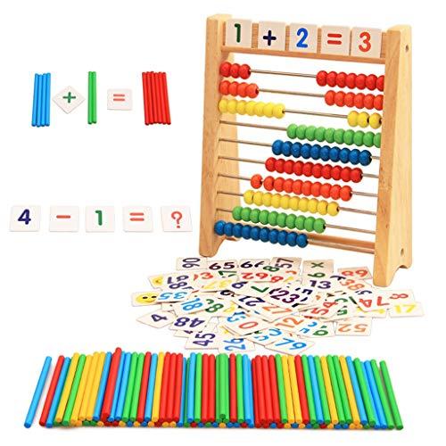 Cuenta de Madera Abacus Abacus, Escuela Primaria Calculo del cálculo de los...