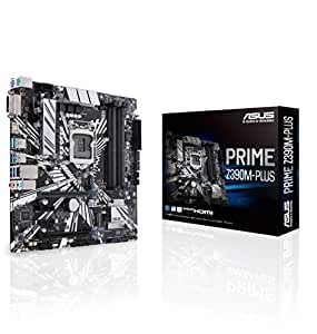ASUS Prime Z390M-Plus Gaming Mainboard Sockel 1151 (mATX, Intel Z390, 4x DDR4-Speicher, USB 3.1)