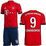 adidas FCB FC Bayern München Set Home Heimset 2018 2019 Herren Lewandowski 9 Gr L