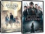 Locandina Animali Fantastici - Dove Trovarli / I Crimini di Grindelwald - (2 Film DVD) Edizione Italiana
