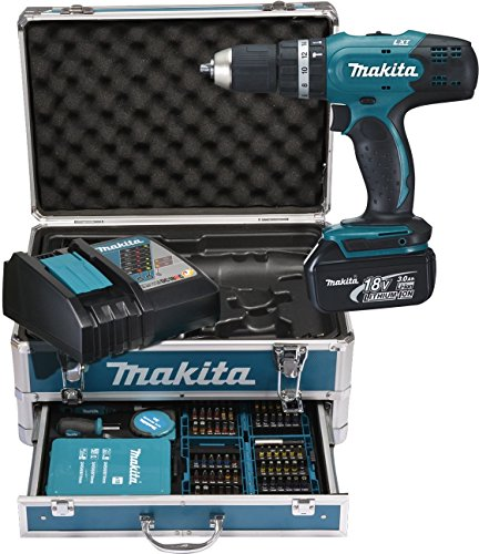Makita DHP453RFX2 Perceuse-visseuse à percussion perceuse à percussion makita dhp453rfx2 - 51JleH9FIYL - Perceuse à percussion Makita DHP453RFX2