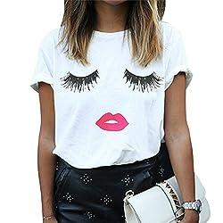 Imixcity Camiseta de Verano...