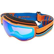 Julbo Echo máscara de esquí para niño, Niño, Echo, naranja/azul