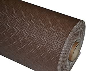 Brown table protector heat resistant felt all shapes all sizes available by prestige - Heat resistant table cloth ...